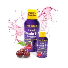 Liquid B12 Complex- Cherry Charge